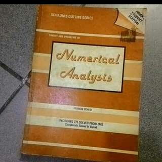 Numerical Analysis (Theory and Problems)