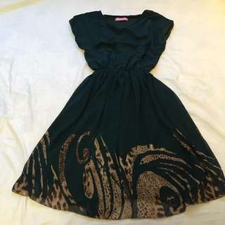 Fully Lined Flowing Dress