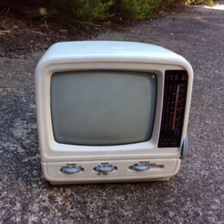 'COMPUTEC' Black And White TV/Radio