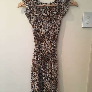 Boutique Print Dress Sz 8