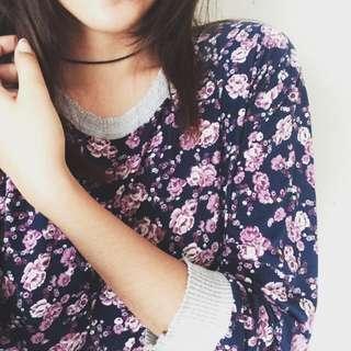 Floral 3/4s