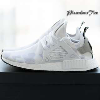Women US 7.5 Adidas Original NMD XR1 Camo White