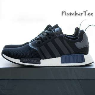 Men US 10 Adidas Original NMD R1 Black | Blue