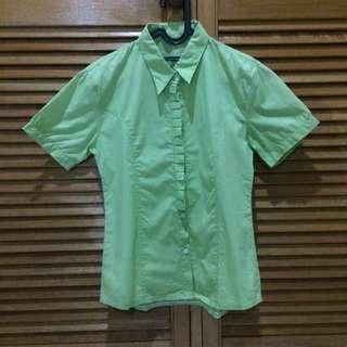 Light Green Shirt Kemeja
