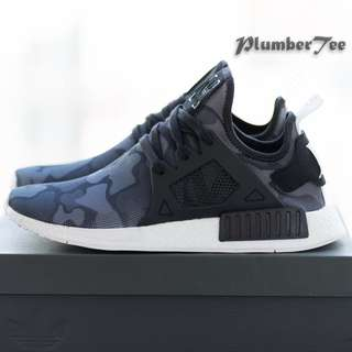 Women US7.5 | 8 Adidas Original NMD XR1 Camo Core Black
