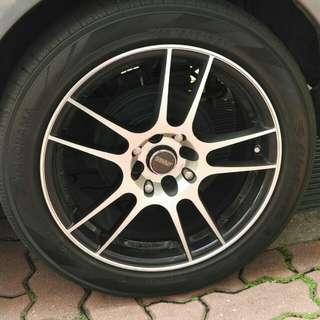 "16"" SSW RIM With Tires 205/16/50"