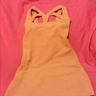 Dusty Pink Fit Dress