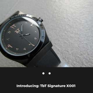 The Brown Table *signature Watch*