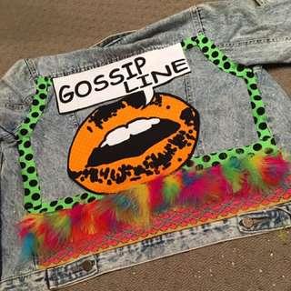 Chip&Coops Embellished Denim Jacket