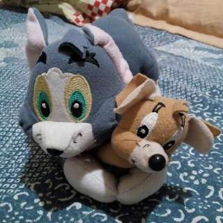 Tom and Jerry stuff toy