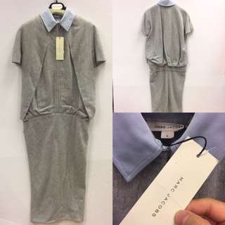 New Marc Jacobs grey one piece dress size 4