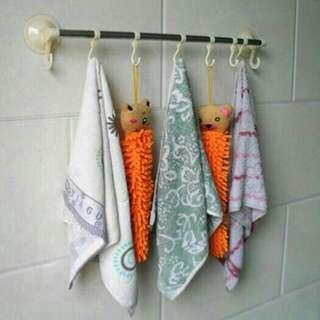 Gantungan Serbaguna Untuk Lap, Handuk, Baju / Peralatan dapur