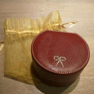 🚚 皮質珠寶盒 飾品收納盒 附收納袋