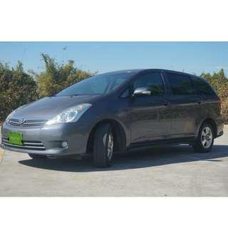 2007年 Toyota 豐田  Wish  2.0 灰色  中古車  二手車