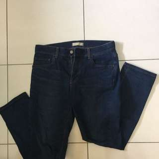 Uniqlo 彈性緊身牛仔褲