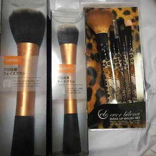 💥Set Of Make Up Brushes(EVER BILENA AND REAL TECHNIQUES DUPES)💥