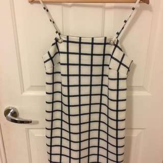 ASOS checked dress