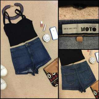 ❎Reserved❎Topshop High Waisted shorts