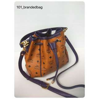 MCM Small Bucket Sling Bag