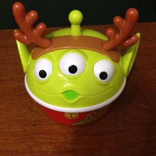迪士尼 玩具總動員 麋鹿三眼怪  麻吉盒