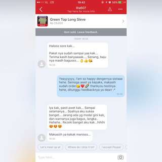 New Testimoni From My Beloved Costumer🌈