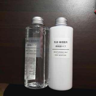 無印良品 高保濕化妝水+乳液 敏感肌適用