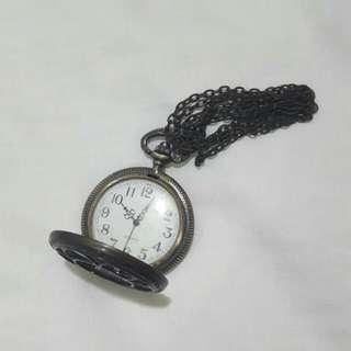 Pre-loved Locket Watch Necklace