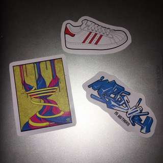 For Sale!!! Adidas Skateboard Stickers