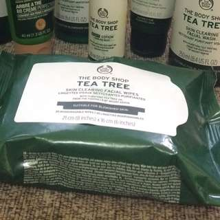 The Body Shop - Tea Tree Skin Clearing Facial Wipes