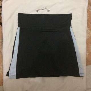 Repriced ✔️black skirt with short inside