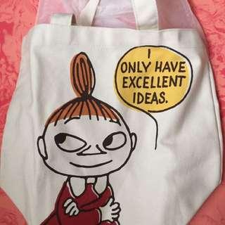 Moomin 嚕嚕米 肩背包 tote包