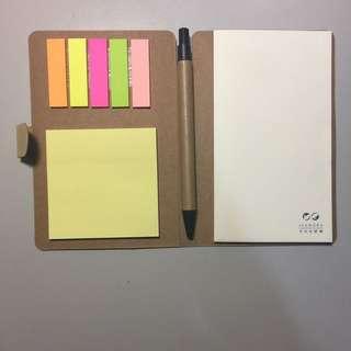 筆記本 便利貼