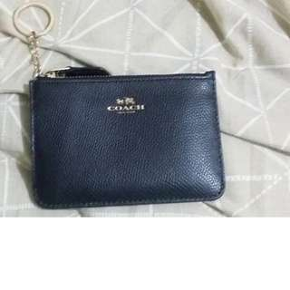 Coach small wallet with keychain