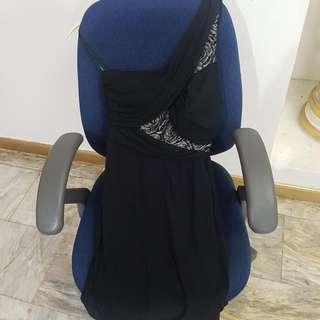 XOXO Black Cocktail Dress