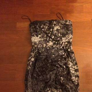 Cute Strapless Dress Size 6