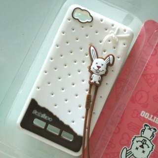 Xiaomi Mi4i Fabitoo White Case Silicon