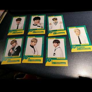 BTS 3rd Muster Photocards