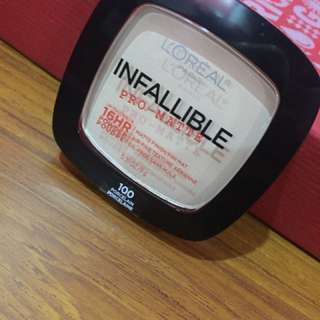Loreal Infallible 100 shade