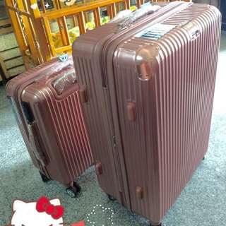 超時尚20吋玫瑰金🌹超鏡面行李箱