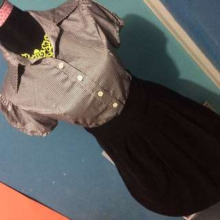Office Clothes Set Blouse And High Waist Skirt