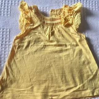 Mothercare Sequin Detail Top 6-9 months