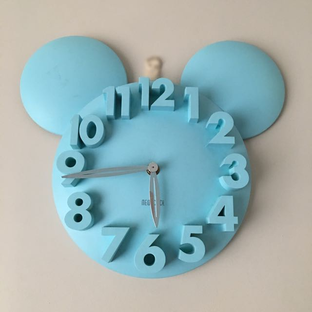 3D Mickey Mouse Wall Clock