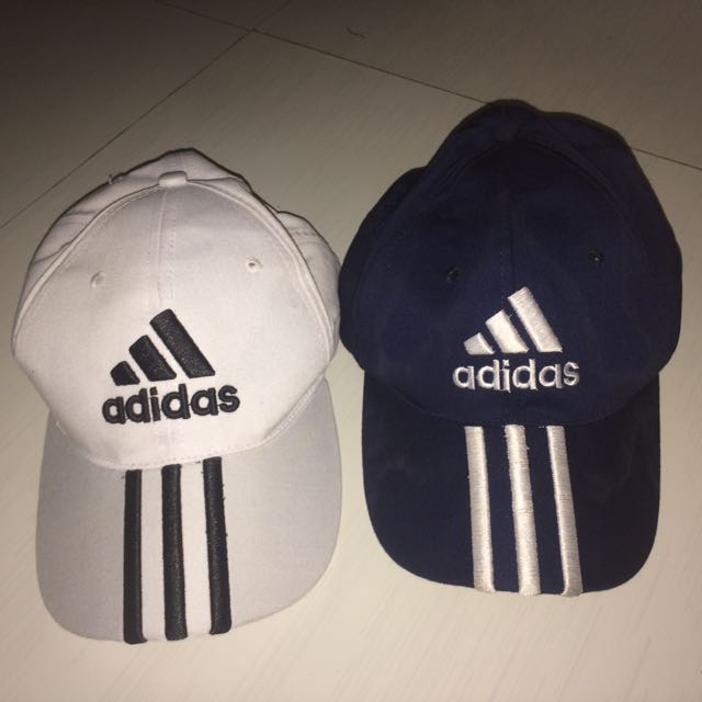 Adidas cap holder navy and white