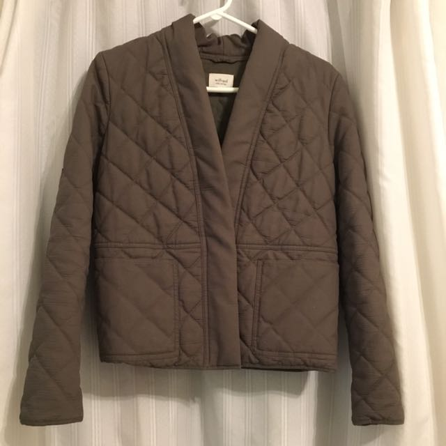 Aritzia - Wilfred Quilted Jacket