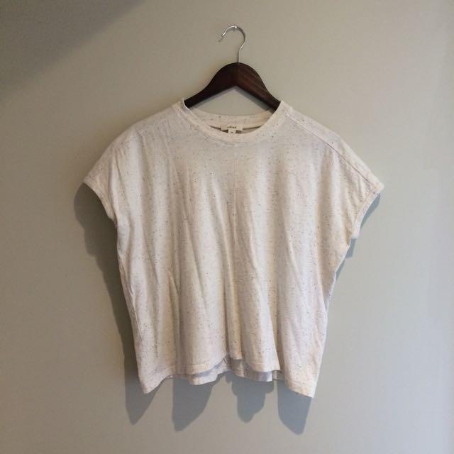Aritzia Wilfred Boxy Tshirt Size XS