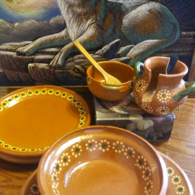 Authentic Mexican Dish Set