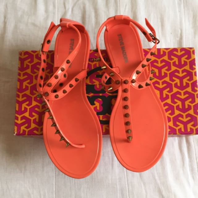 AUTHENTIC STEVE MADDEN JELLY SANDALS