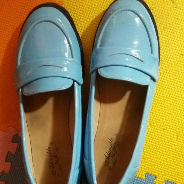 Baby Blue Adorable Shoes