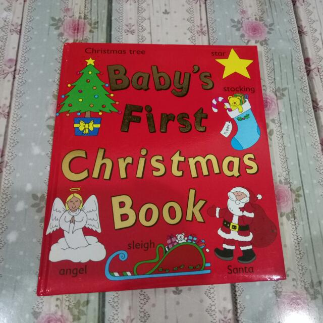 Baby's First Christmas Book
