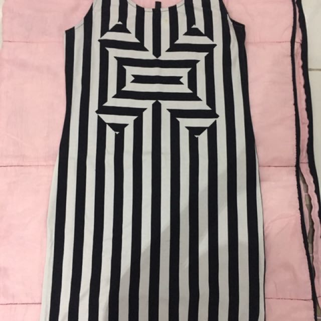 Black & White H&M Dress